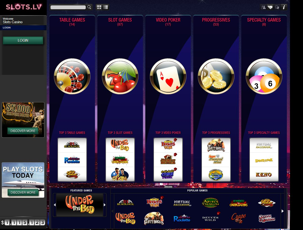 Slots.lv Casino Review – Top Site for USA & Canadian Players